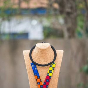 Nhyira's African Print Necklace