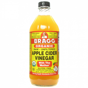 "BRAGG APPLE CIDER VINEGAR ""WITH MOTHER"