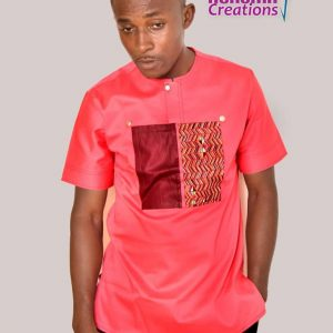 Ankara men shirt ( Nsroma )