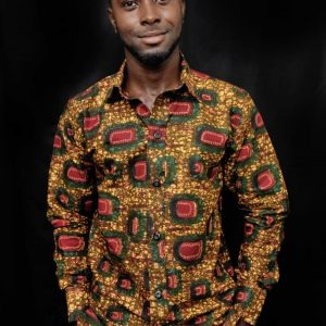 African clothing men shirt ( Nsroma )