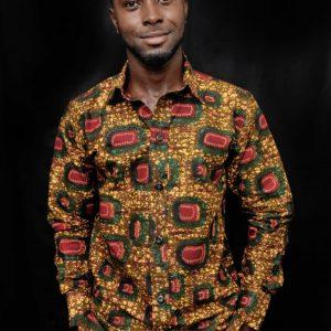 African clothing men shirt ( Nsroma )
