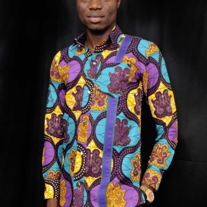 African long sleeve shirt