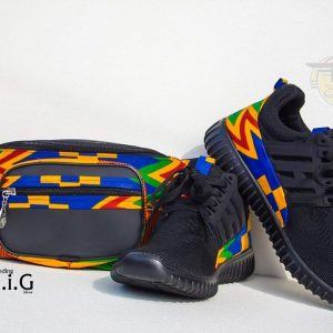 Eben ankara shoe with waist bag